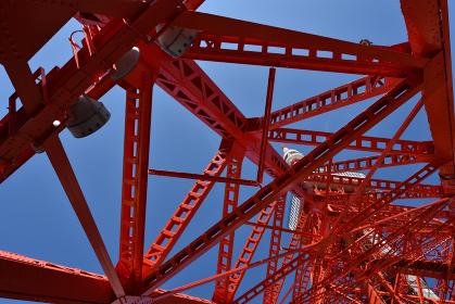 東京タワー、クローズアップ