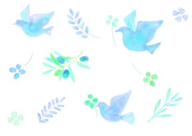 平和イメージのパターン
