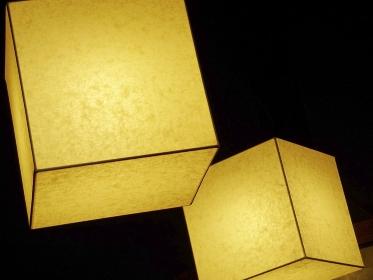 和紙の照明器具
