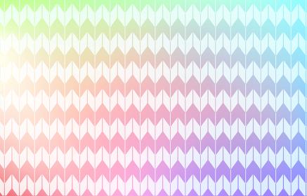 背景素材:淡い虹色グラデーションと和柄パターン