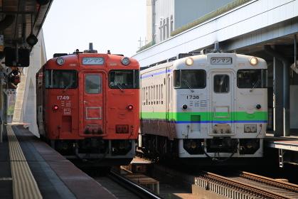 根室本線帯広駅 キハ40
