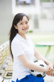 サッカー部のマネージャー