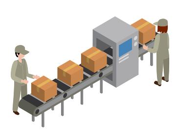 配送 運搬 アイソメトリック 3D