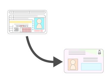 運転免許証とマイナンバー紐付けのイメージ