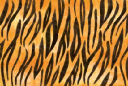 質感のあるトラ柄模様の年賀状背景 縦柄