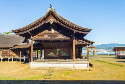 厳島神社の能舞台