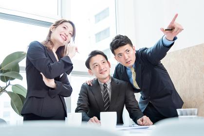 ビジネス状況・3名・目標と成功