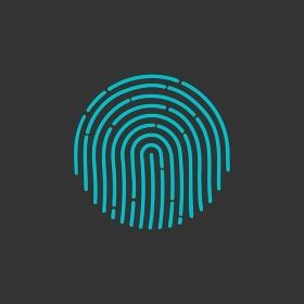 fingerprint Icon Image. Flat. fingerprint icon app. ID app icon. Fingerprint vector illustration. fingerprint Icon. fingerprint Icon Vector. fingerprint Icon Sign. fingerprint Icon Flat. fingerprint icon app