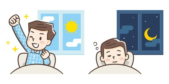 起床と睡眠