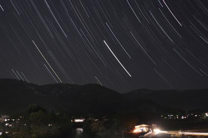 小国町の星景