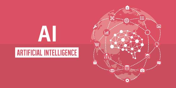 AI (エーアイ・人工知能) イメージバナーイラスト