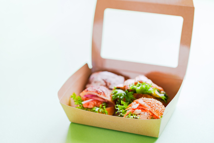 サンドイッチ ランチボックス テイクアウト