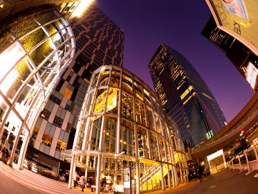 夕暮れの渋谷ストリーム 東京都