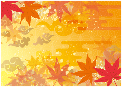 秋 和風 紅葉 背景