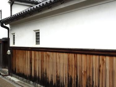 重要伝統的建造物群保存地区今井町の漆喰の壁