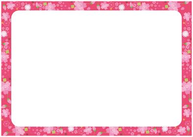 フレーム 桜 春