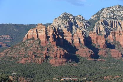 セドナの風景 エアポートメサからの景色 アリゾナ州 アメリカ合衆国