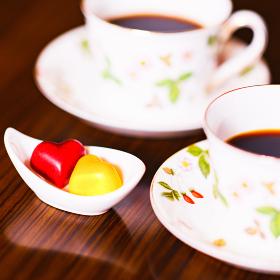 チョコレート ハート型 コーヒー 【バレンタイン】