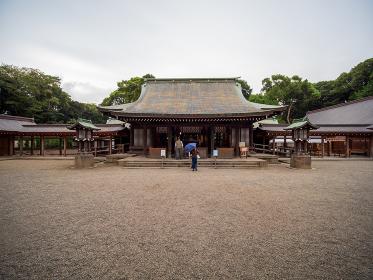 日本の神社の風景 氷川神社 埼玉県さいたま市
