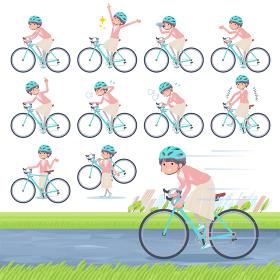 flat Formal jacket skirt women_road bike