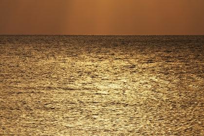 夕暮れの海 宮古島