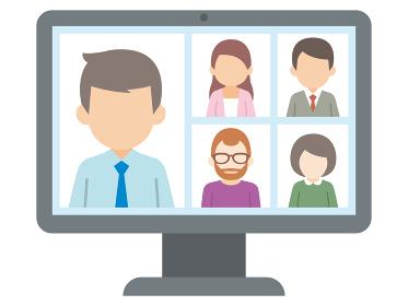 テレワーク リモートワーク オンライン ビデオ会議 デスクトップ