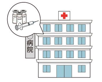 ワクチン接種会場 病院 病院名 赤十字