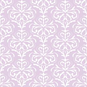 ダマスク柄のシームレスなパターン素材(ピンク)