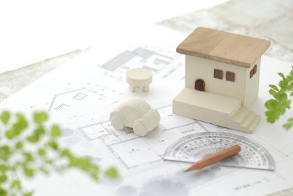 マイホームの設計図のイメージ