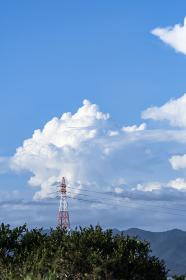 大迫力の入道雲
