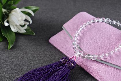 数珠と数珠袋 2 女性用