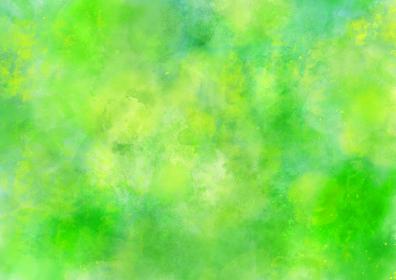 水彩調 アブストラクト背景 緑色