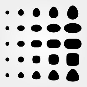 図形 円・楕円 02