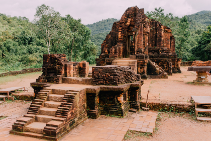 My Son ancient ruins (UNESCO), Hindu tamples from Vietnam