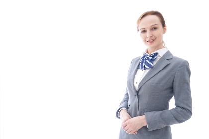 制服を着た外国人留学生