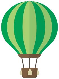 気球・熱気球・アドバルーン カラーイラスト
