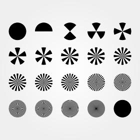 図形 円分割 02