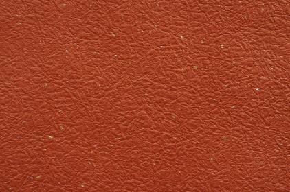 オレンジ、朱色系和紙の和風背景素材