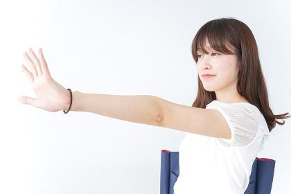 日本人の若者女性