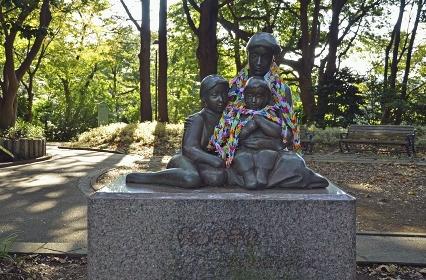 愛の母子像