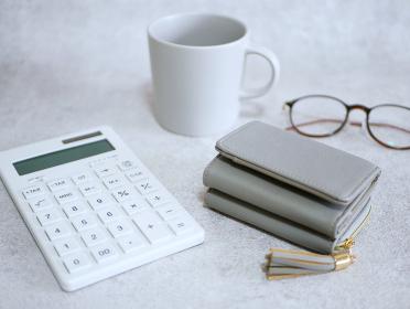電卓とお財布