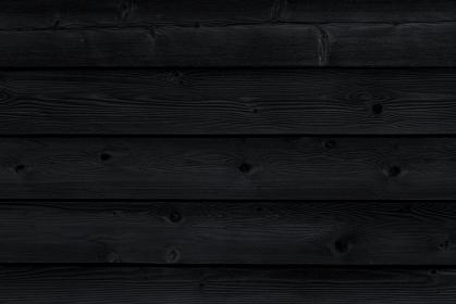 黒い木目の横組みの背景 5298