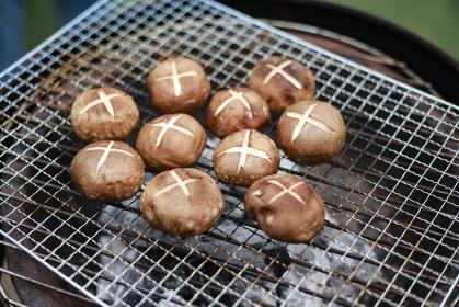 焼き椎茸 バーベキューイメージ