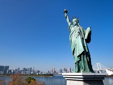 お台場の自由の女神像 東京都