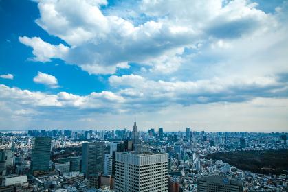 都庁展望台から撮った風景