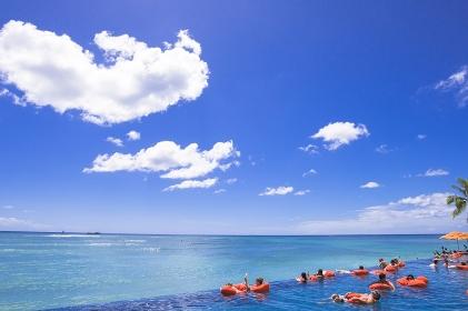 ハワイ オアフ島 シェラトンホテルプール