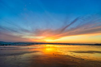 岩屋海岸の夕暮