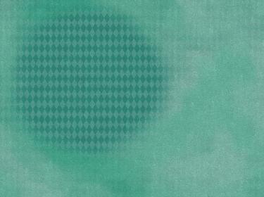 背景素材 水彩パターン ダイヤフレーム 緑