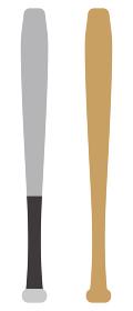 金属バットと木製バット