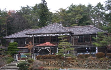 吹屋(重伝建)の旧吹屋小学校(2011年撮影、2012年閉校)
